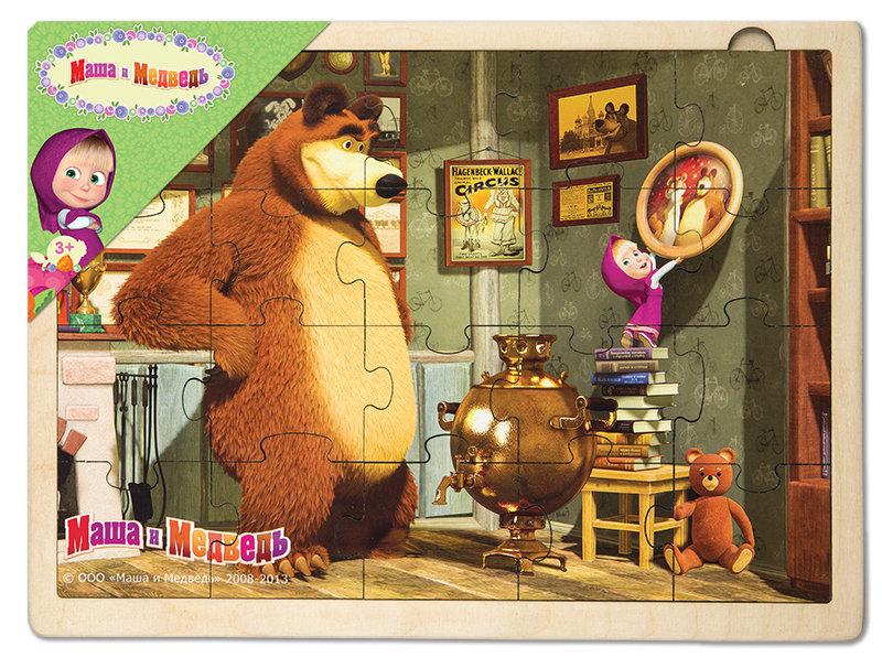 Пазл «Маша и медведь» Step Puzzle