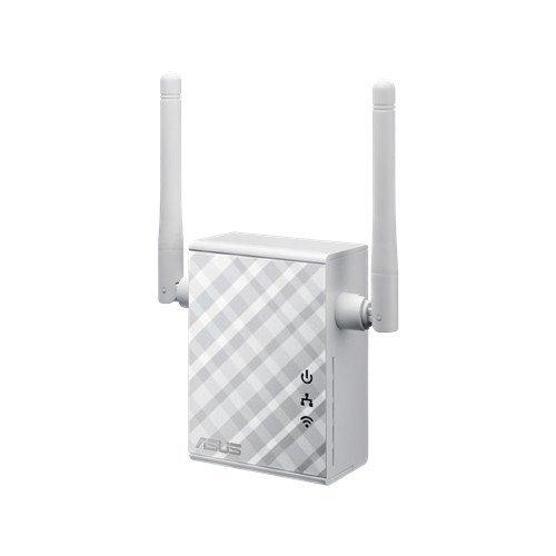 Усилитель Wi-Fi Asus - RP-N12, 2.4 ГГц, 300Mb/s, IEEE 802.11 b/g/n, RJ-45 10/100 Мб/с, RP-N12