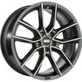 Диск BBS XA 8,5x19/5x120 ЕТ32 D82 Black + Diamond Cut - фото 1