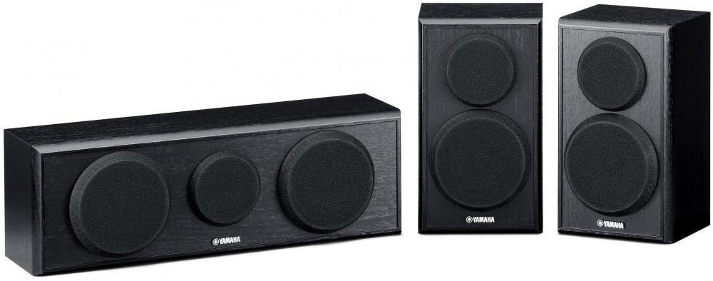 Акустическая система Yamaha NS-P150 3 колонки (черный)