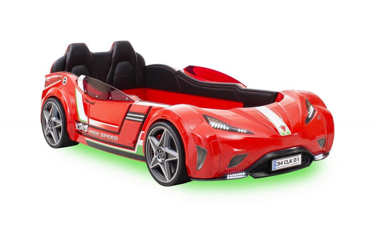 Cilek Детская кровать-машина GTI (красная)