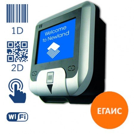 Прайс-чекер штрих-кода NQuire 232 RW-C 2D c RFID LAN / WiFi 802.11b/g, Touch Screen