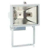 Галогенный прожектор Navigator симметричный патрон-цоколь R7s 150W (Вт) 220V IP54 140x100x192 94600 NFL-FH1-150-R7s/WH