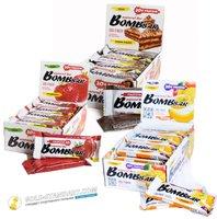 Упаковки батончиков Bombbar, 3 коробки, 60 штук по 60 грамм