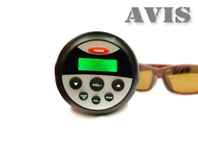 Влагозащищенный усилитель для мотоцикла / квадроцикла AVIS AVS114 с MP3 плеером и Bluetooth под встройку