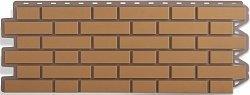 Фасадная панель (цокольный сайдинг) Альта-Профиль Кирпич клинкерный Бежевый