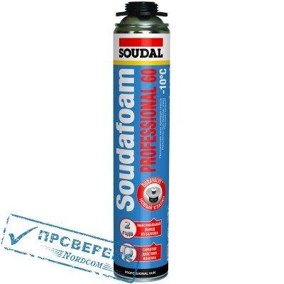 Пена монтажная, зимняя Soudal 750 мл (Professional)
