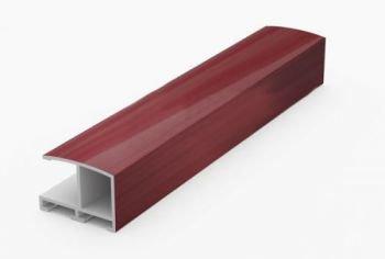 Алюминиевый профиль.3.05 м. Вишня №62 Nielsen 62244