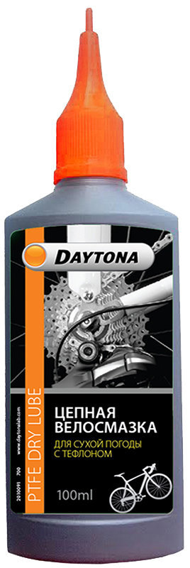 Цепная смазка для сухой погоды с тефлоном 100 мл Daytona
