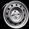 Диски Trebl 53A45V 5.5x14 4x100 ET45 ЦО56.1 цвет Silver - фото 1