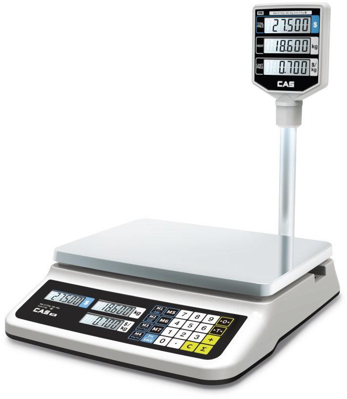 Весы торговые Cas PR-6P (LCD II)