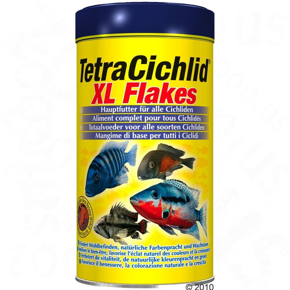 Корм Tetra Cichlid XL Flakes крупные хлопья для всех видов цихлид (10 л (ведро))