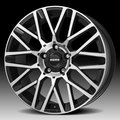 Колесные диски MOMO REVENGE 7,0\R17 4*108 ET25 d65,1 Matt Black-Polished [WRVE70725408] - фото 1