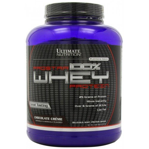 Ultimate Nutrition Prostar 100% Whey Protein (2.3 кг) (Печенье крем)