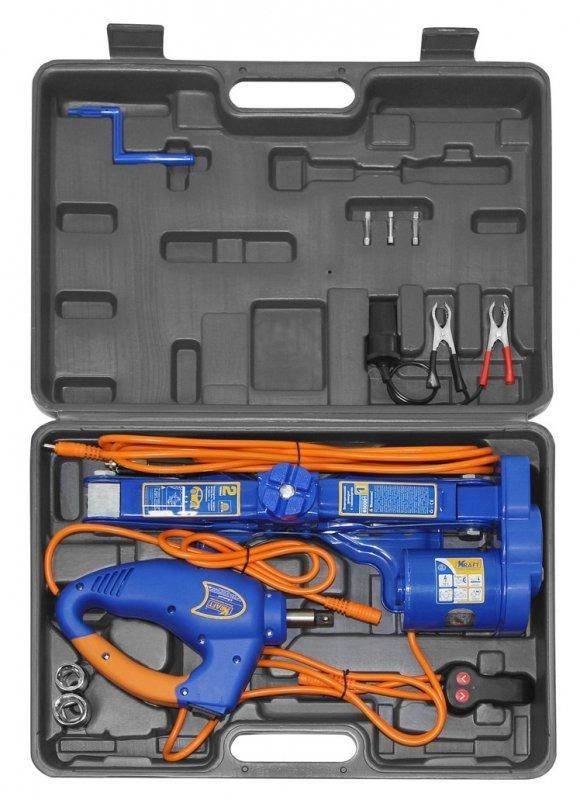 Домкрат электрический 2 тонны KRAFT КТ 850001
