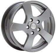 Литой диск Скад Акула 6x16 4x100 ET52.0 D54.1 Грей - фото 1