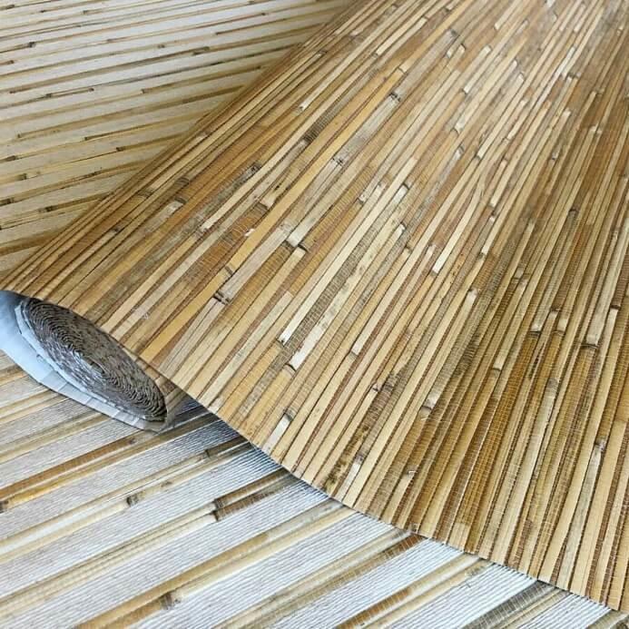 Cosca Натуральные обои бамбук-тростник C 1038 L (5,5 м)