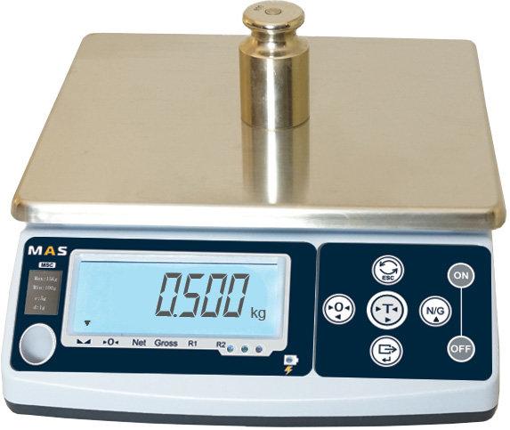 Весы порционные (фасовочные) Mas MSC-10