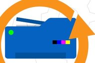 РПР33 Простой ремонт струйного МФУ (принтер/сканер/копир) формата A4