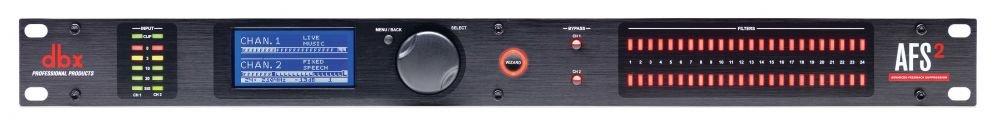 dbx AFS2 2-канальный подавитель обратной связи с ЖК-дисплеем