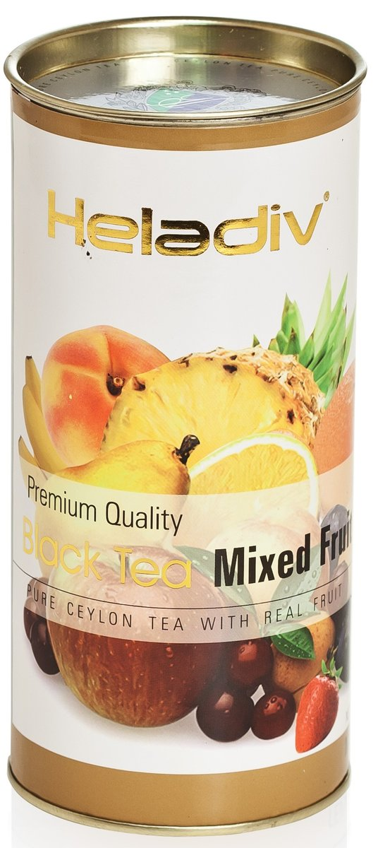 Чай Heladiv mixed fruit черный листовой 100гр
