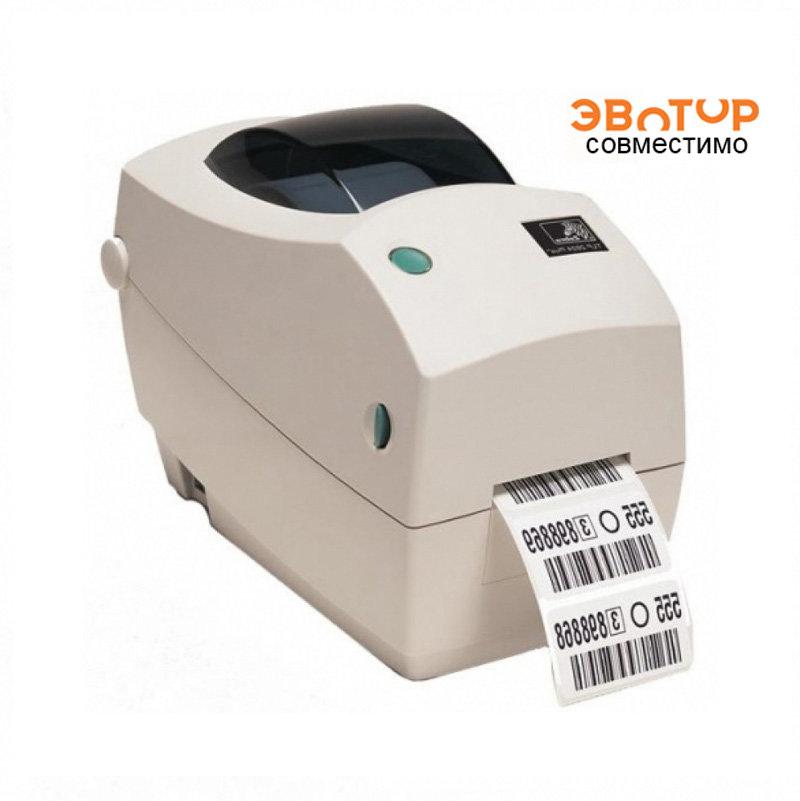 Принтер штрих-кодов Zebra TLP 2824 Plus термотрансферный (282P- 101120-000)