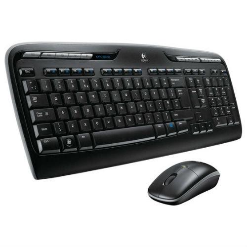 Клавиатура и мышь Logitech Wireless Combo MK330 Black USB 920-003995