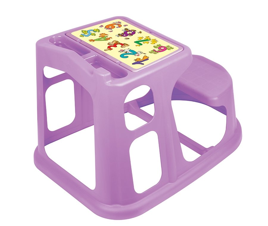 Стол - парта пластиковая детская с аппликацией арт.С13771