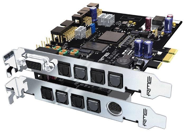Звуковая карта для компьютера RME HDSPe RayDat