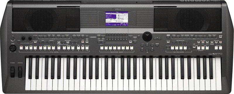 YAMAHA PSR-S670 синтезатор, 61кл., 128-нот. полиф. 9 MegaVoices/865 тембров/181 стилей/16-тр. секвенсор/USB,блок питания в короб