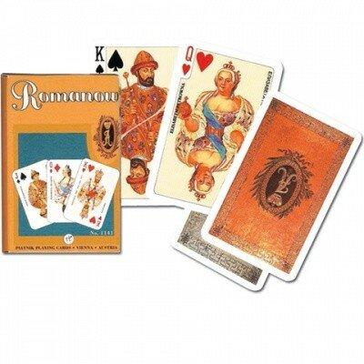 Игральные карты Династия Романовых, 55 листов