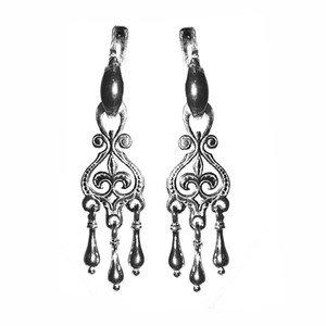 Серебряные серьги Уран Саха арт. USE088