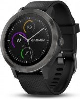 Смарт-часы Garmin Vivoactive 3 (черный) (с черным ремешком)