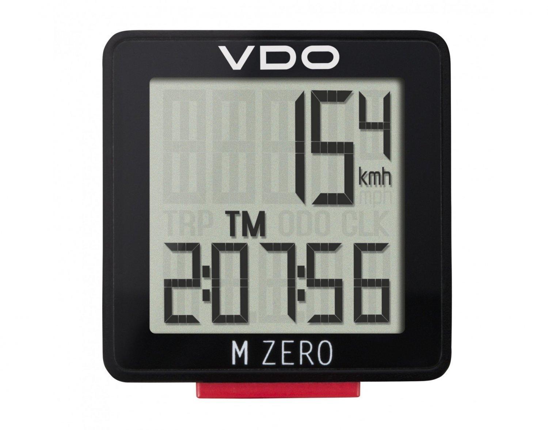 Велокомпьютер VDO M-ZERO WR 5 функций черный