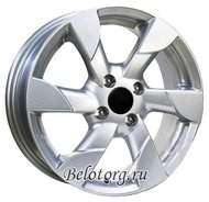 Диск Replica NI17 5.5x15/4x100 D60.1 ET45 Silver - фото 1