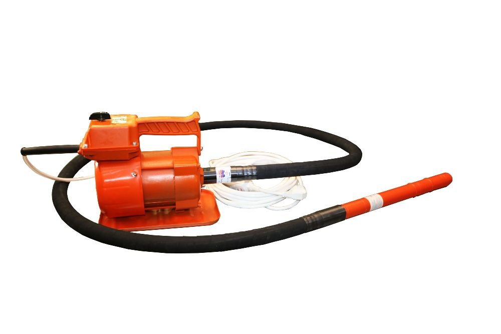 Вибратор глубинный КРАСНЫЙ МАЯК ЭПК-1300 с гибким валом 3 м и наконечником 76 мм