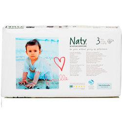 Подгузники размер 3, 4-9 кг. Naty, 52 шт. (экономичная упаковка)