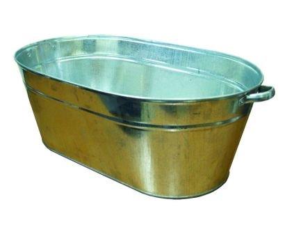 Ванна оцинкованная для тележки дворника