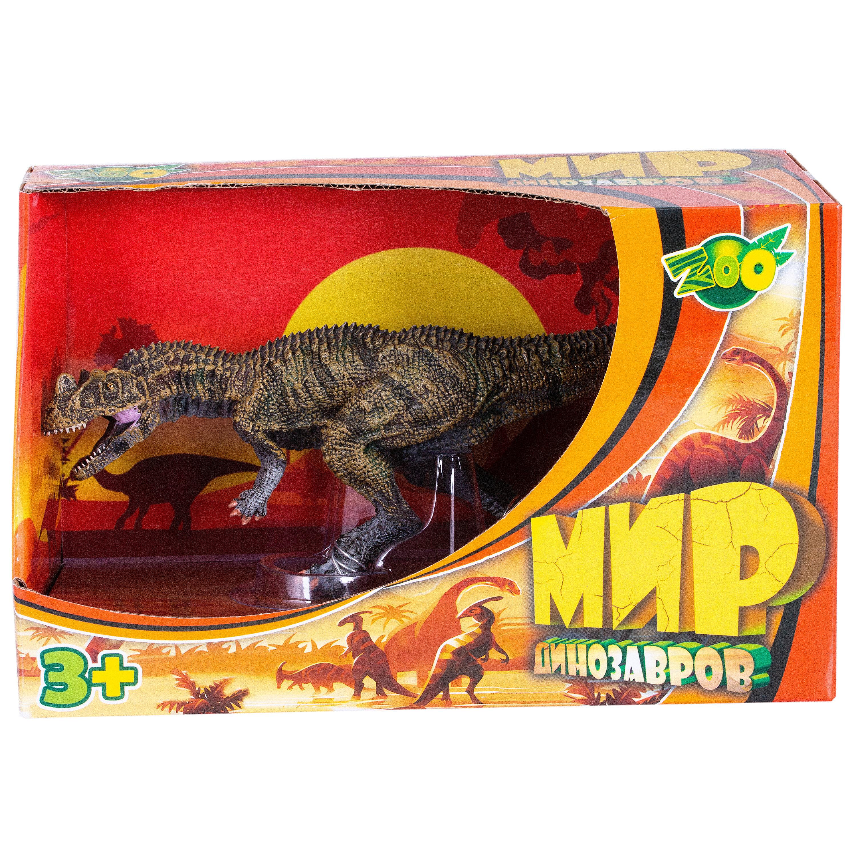 Фигурка Игрики Zoo Цератозавр