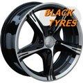 Диск колесный LS Wheels 137 6.5x15/4x98 D58.6 ET32 BKF - фото 1