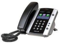 IP-телефон Polycom VVX 500, Серебристо-черный