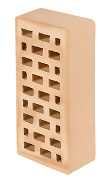 Кирпич лицевой одинарный марки М-150 (солома)