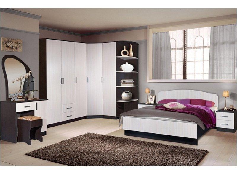 Набор мебели в спальную комнату фабрики Стиль Светлана-21