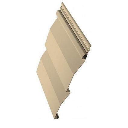 Виниловый сайдинг Текос - Слоновая кость - Корабельный брус - 3660х230 1шт=0,84м2