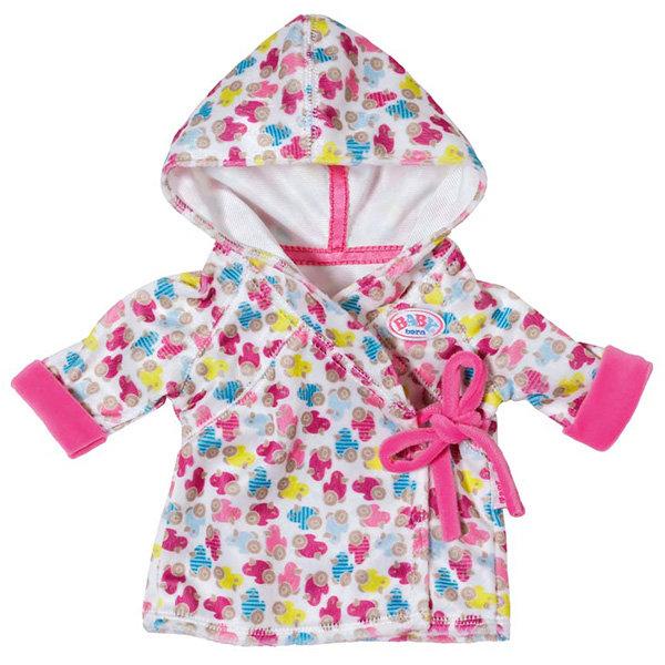 Одежда для куклы Zapf Creation Baby born 822-463 Бэби Борн Одежда Халат с капюшоном
