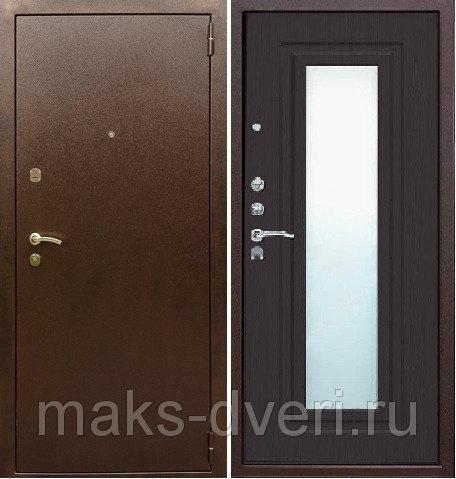 купить входные двери с зеркалом по акции