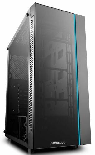 Корпус ATX Deepcool MATREXX 55 без БП, большое боковое окно, ATX, черный