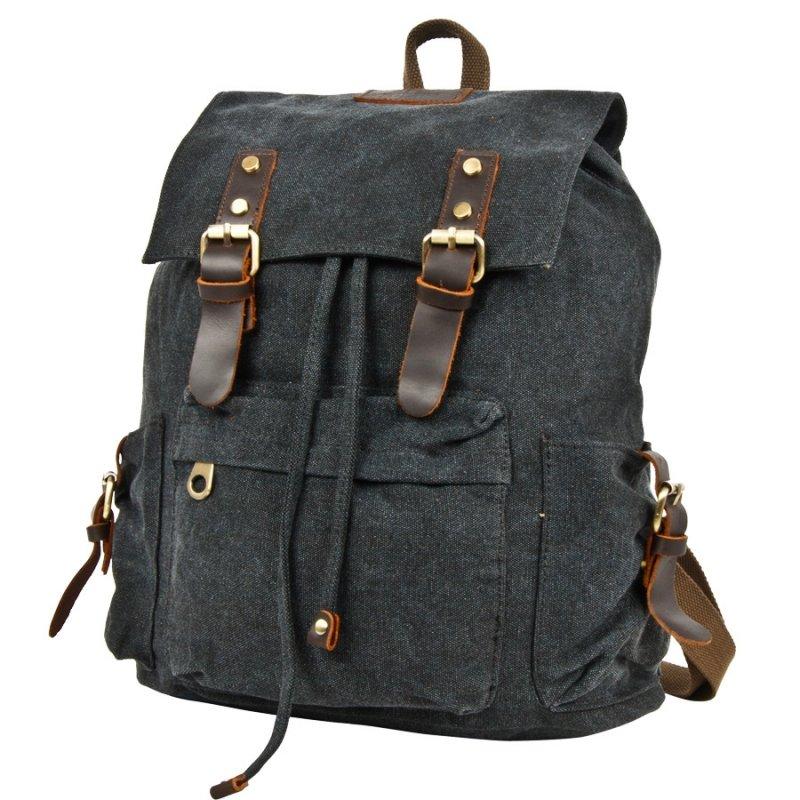 Рюкзак POLAR INC POLAR П3062-05 брезент, черный