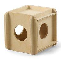 Игрушка - кубик для грызунов, 11,5x11,5x11,5 см