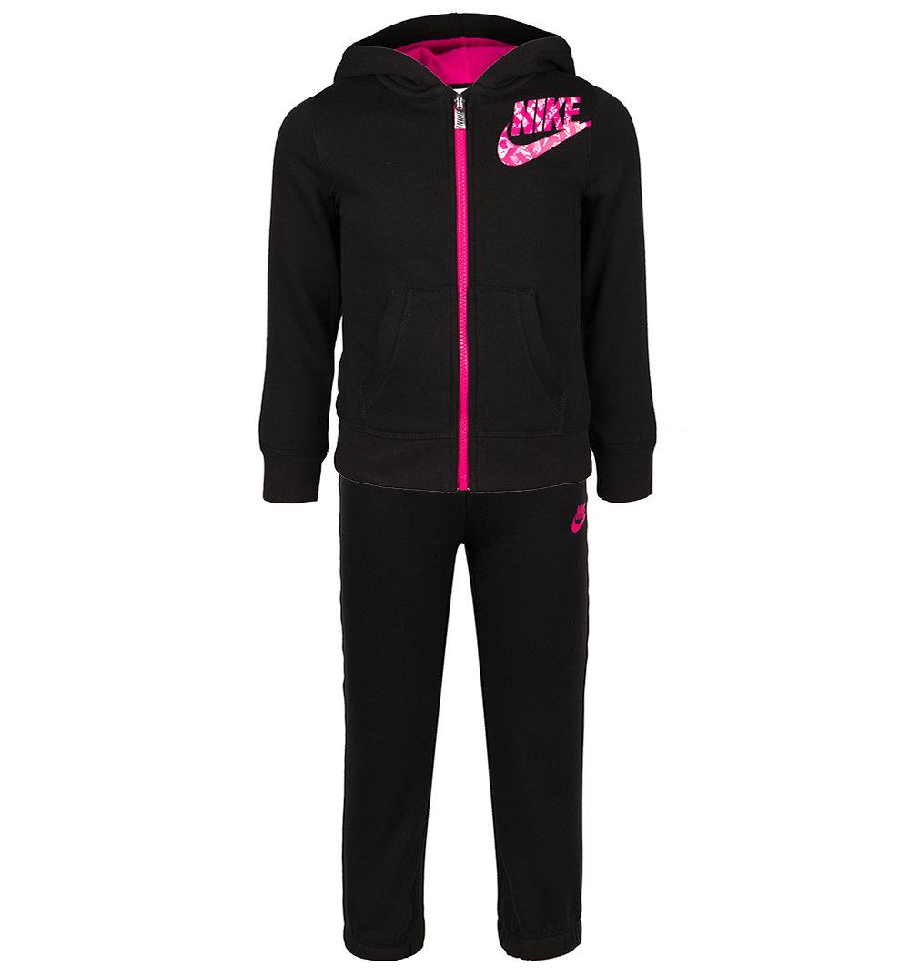 Спортивный костюм Nike ', цвет: розовый/черный